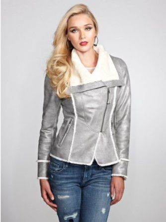 GUESS Womens Geneva Coat | My Style | Pinterest