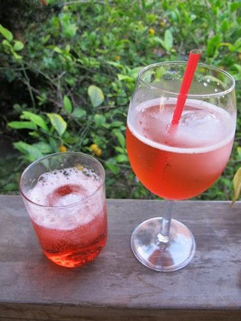 The Non-Alcoholic Campari & Soda Recipe | food and drink | Pinterest
