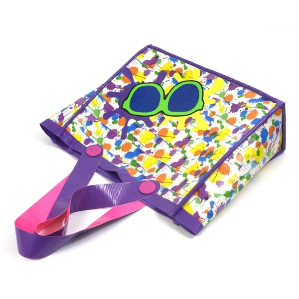 Paint Splatter Duck Tape Beach Bag