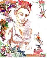 Namibian Designer Berry Meyer's beautiful collages melt my heart...