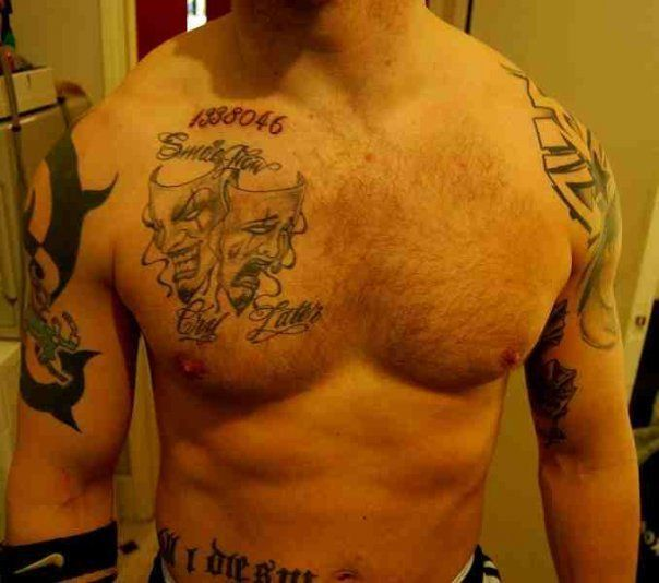 Tom Hardy Tattoo Pictures to Pin on Pinterest - TattoosKid