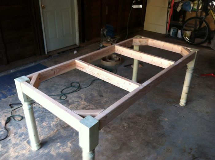 Dining Table: Build Dining Table Video