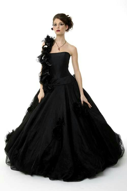 Black Wedding Dress Unique Beautiful Wedding Dresses Pinterest