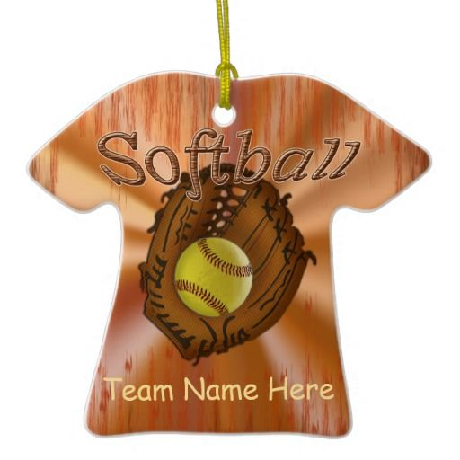 Softball team names ideas softball team gift ideas ornaments with