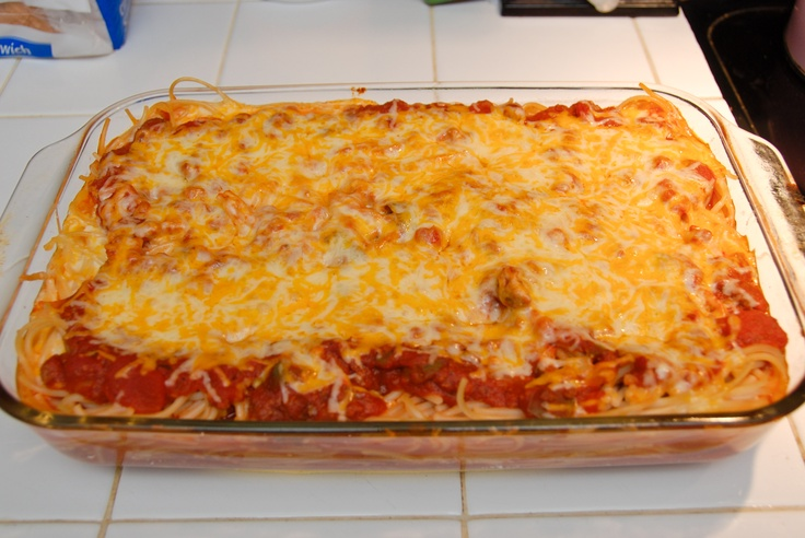 Baked Spaghetti | Recipes | Pinterest