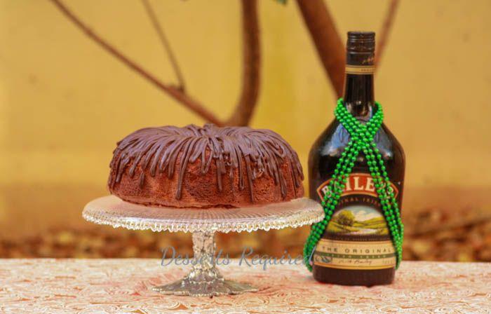 Desserts Required - Irish Cream Chocolate Swirl Bundt Cake