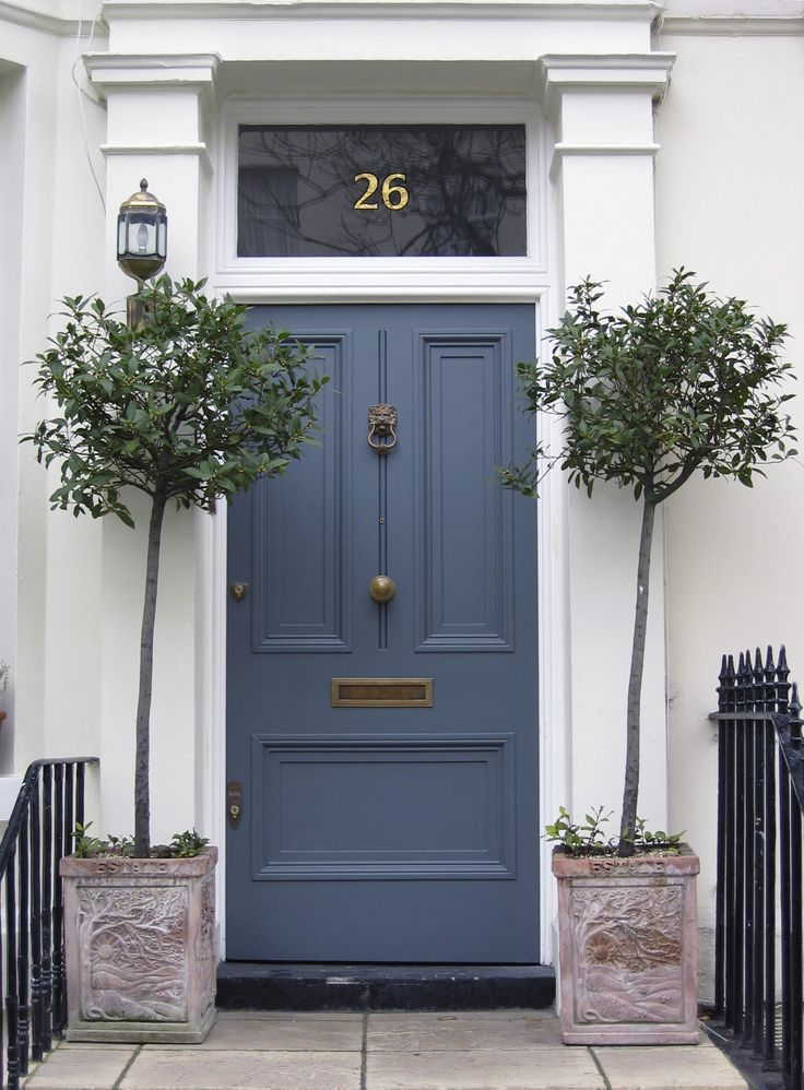 Light Blue Front Doors Pinterest