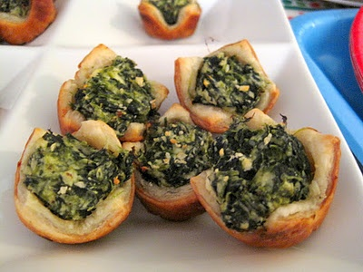 Spinach Feta Puff Pastry Bites   Now this is YUMMY   Pinterest