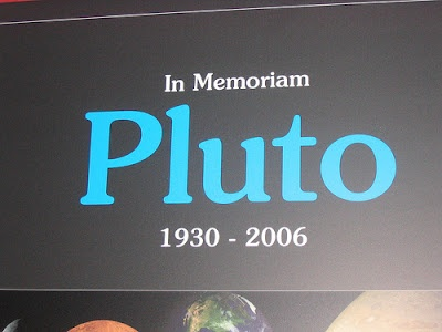 when was pluto declared not a planet - photo #11