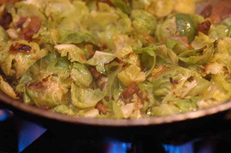 Nice image showing antica brussel sprouts