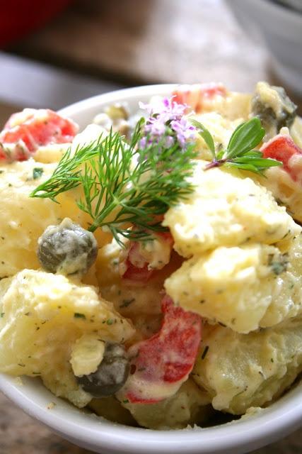 Zesty Potato Salad ~ | Nourishment | Pinterest