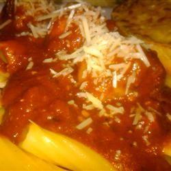 Nanny's Spaghetti Sauce   Recipe