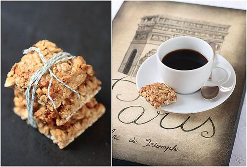Breakfast Thoughts: Lavender Oatmeal Squares by tartelette. Flexible ...
