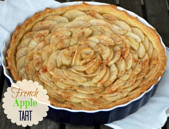 french apple tart that looks like a rose | Pies and Cheesecakes | Pin ...