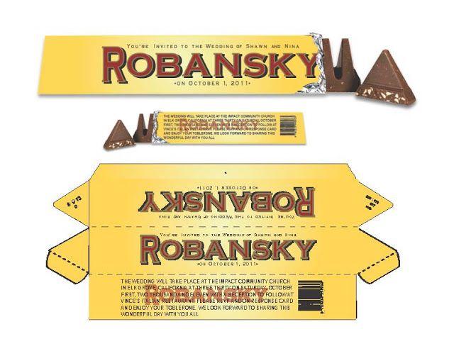Toblerone Die Line Packaging Pinterest