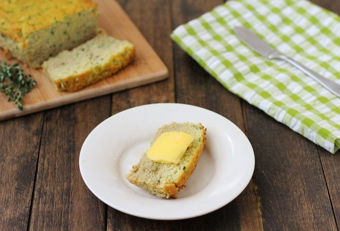 Savory Zucchini Bread | Living Low Carb One Day At A Time