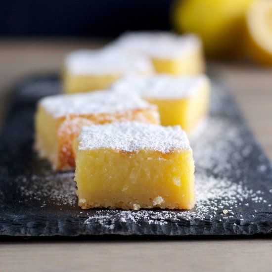 Whole Lemon Bars are easy to make and the perfect balance between ...