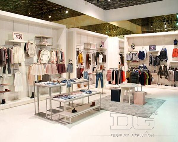 KG06 Kids Clothes Store Display Furniture