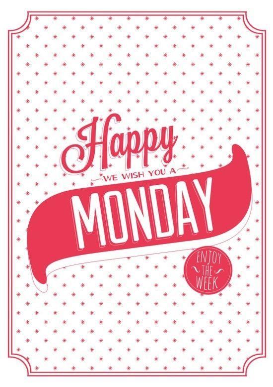 buenos dias, excelente lunes!!