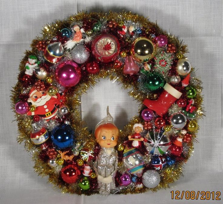 Vintage Ornament Wreath 45