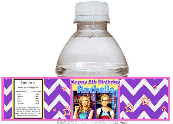 Liv and Maddie Birthday Cakes