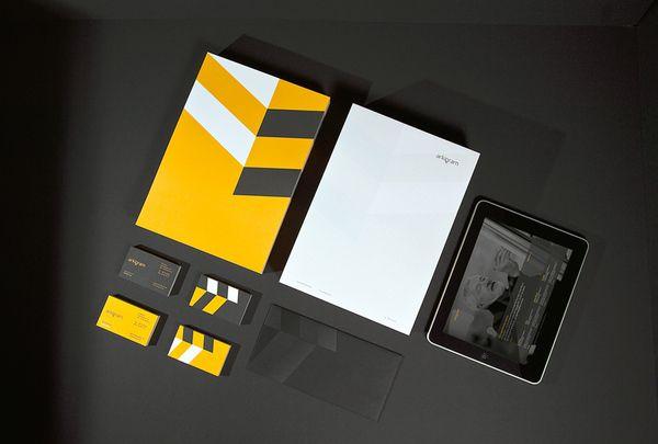 #Brand #identity by Sebastian Gram.