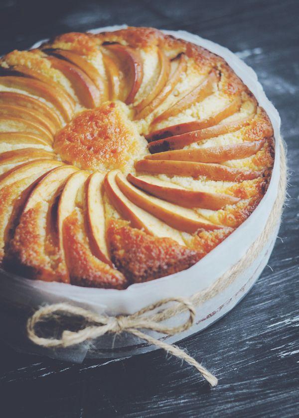 Lemon Yoghurt Apple Cake with Lemongrass and Ginger Syrup | My crazy ...