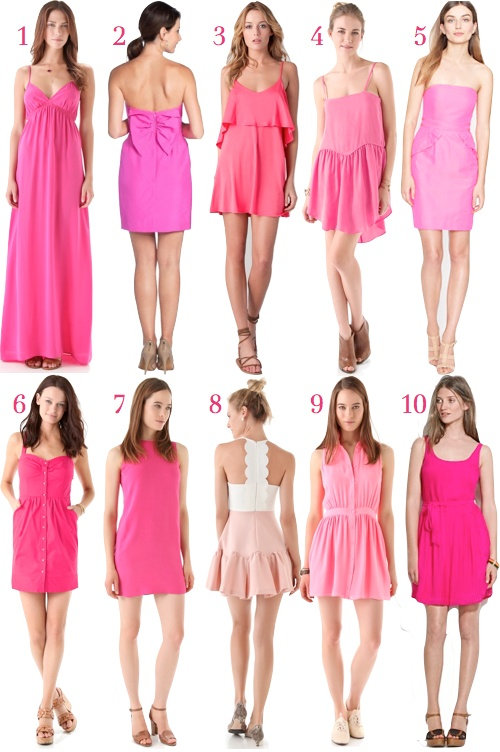 The little pink dress :)