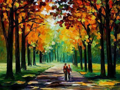 Leonid Afremov - Autumn Park