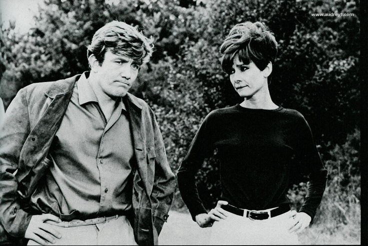 Audrey Hepburn and Albert Finney | 60s | Pinterest