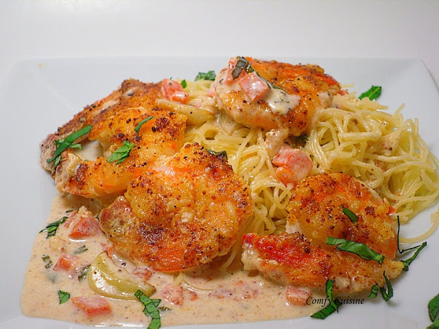 Shrimp Scampi with Angel Hair Pasta   Cooking is love made visible ...