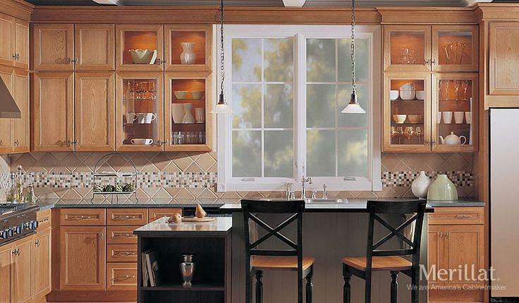 Pin by dawn dhooghe on kitchen remodel pinterest - Merillat kitchen cabinets ...