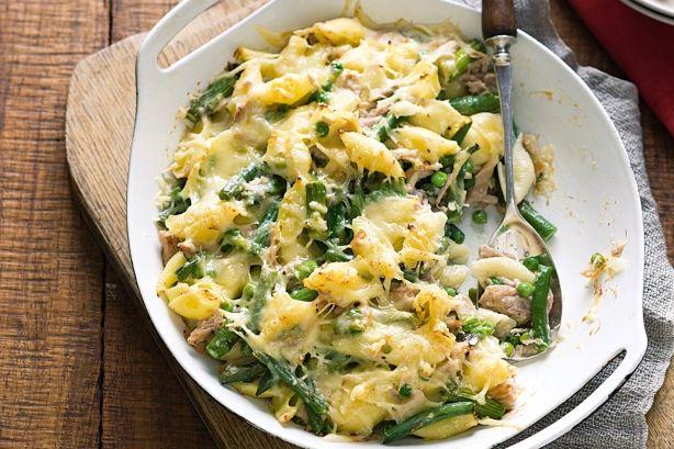 Creamy tuna pasta bake | Recipes | Pinterest