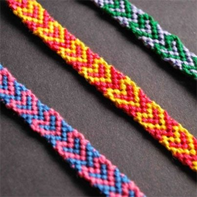 Heart Friendship Bracelet DIY