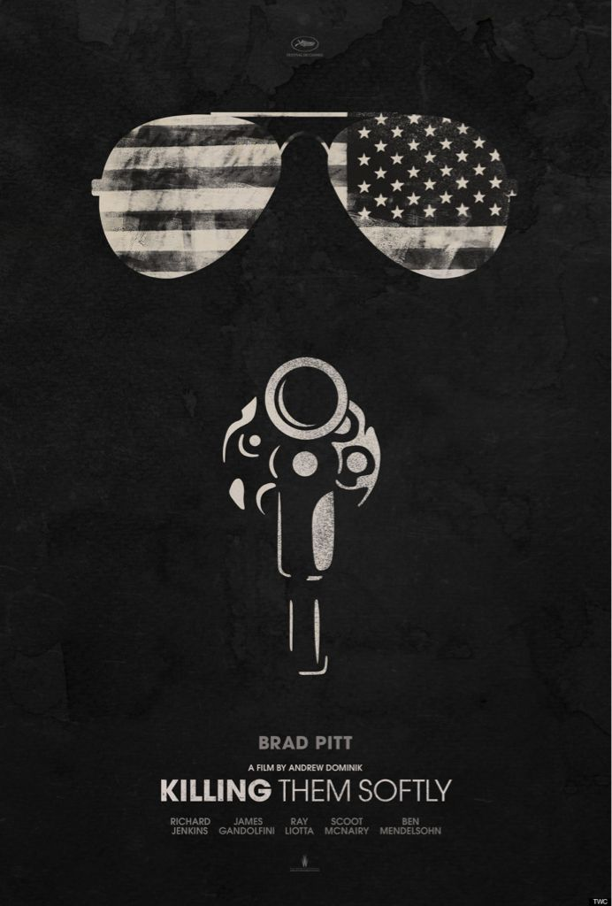 Teaser poster for KILLING THEM SOFTLY (Andrew Dominik, USA, 2012)  Designer: unknown  Poster source: Indiewire