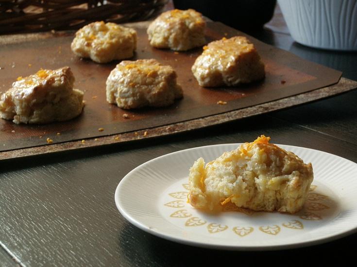 Glazed Orange Scones | Something Savory | Cookielicious | Pinterest