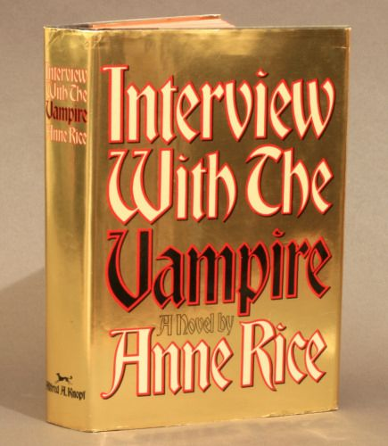Interview With the Vampire - Anne RiceInterview With A Vampire Book Cover