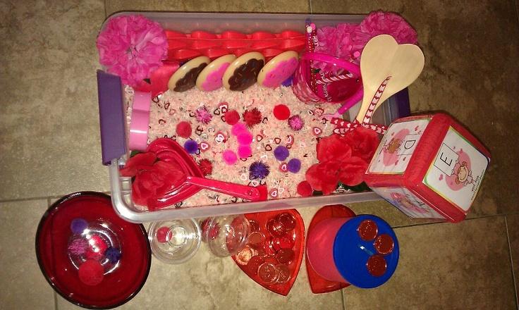 valentine sensory activities