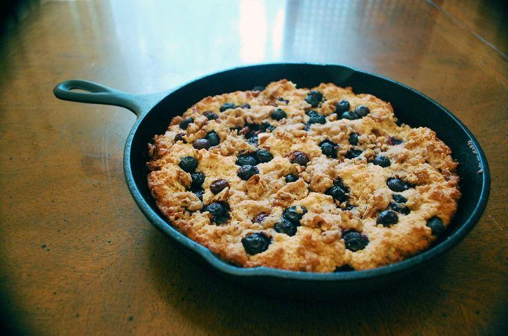 Blueberry Boy Bait Breakfast Cake | Breakfast | Pinterest
