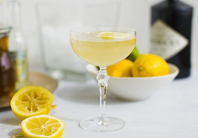 St. Clements - a delightful gin cocktail.