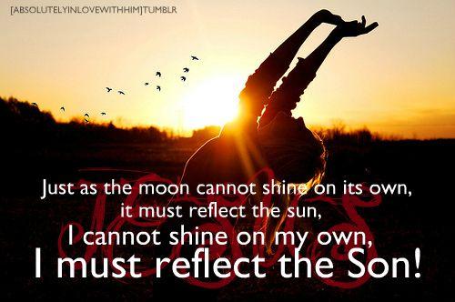 Shine the light.