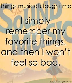 Things musicals taught me: The Sound of Music