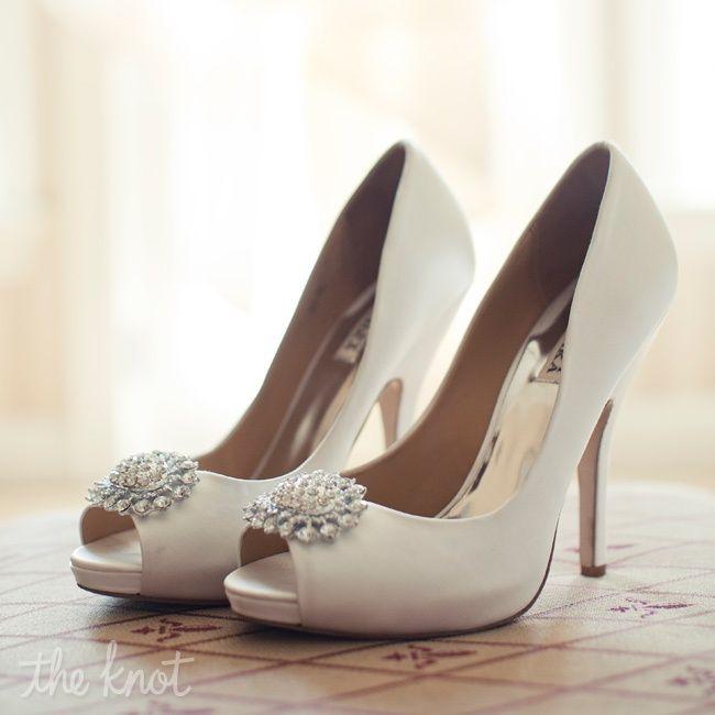 ivory peep toe pumps weddings pinterest. Black Bedroom Furniture Sets. Home Design Ideas