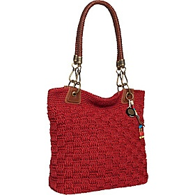 The Sak Crochet Tote : Bennett Crochet Tote Red Static, The Sak Purses, totes & Gems.. P ...
