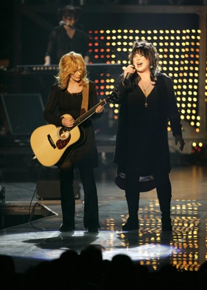 We saw Ann & Nancy Wilson from Heart at the Woodlands. The still rock hard!