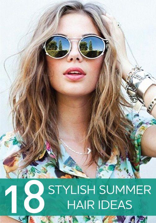 Braids, Buns, and Beach Waves: 18 Stylish Summer Hair Ideas FromPinterest