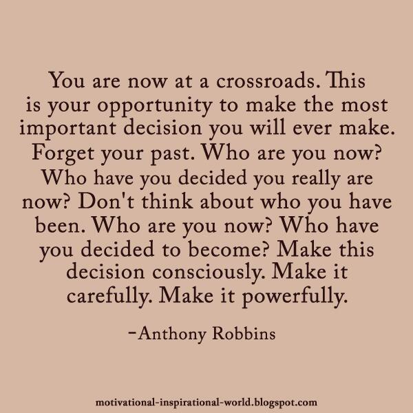 crossroads Quotes Pinterest
