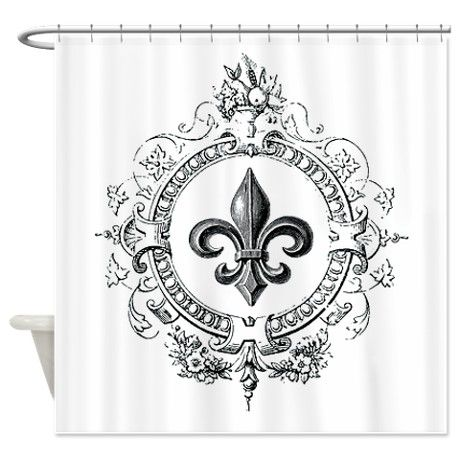 301 moved permanently - Fleur de lis shower curtains ...