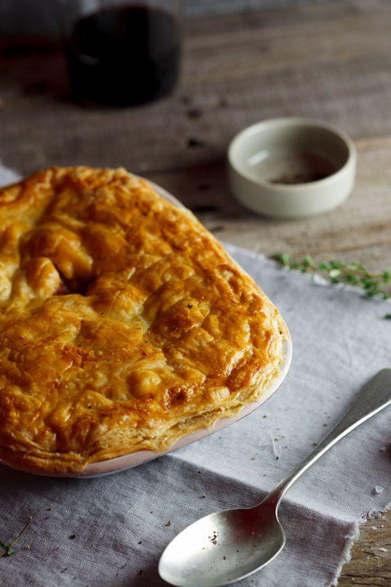 Lamb shank pie #recipe #meat #potpie