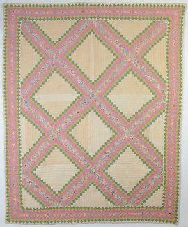 Irish chain quilt circa 1930 kentucky quilting in older times p